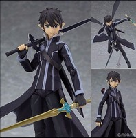 Sword Art Online Action Figure Kirigaya Kazuto PVC Figure Toy 140MM Anime Game Sword Art Online
