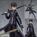 Sword Art Online Action Figure Kirigaya Kazuto PVC Figure Toy 140MM Anime Game Sword Art Online Figma SAO Model Doll