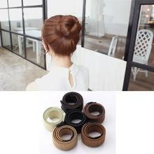 Fashion DIY Magic Hair Bun Maker High Quality Hair Accessories for Women Dish Made Hair Band Fine Headbands