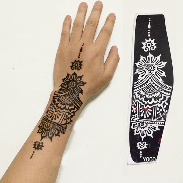 Professional Henna Tattoo Artists For Hire In Austin: Aliexpress.com : Buy Professional Big Size Henna Tattoo