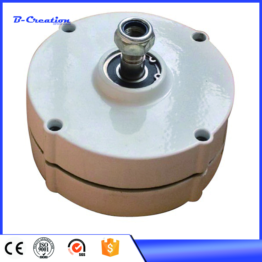 100w baixo rpm gerador de ima permanente alternador ac 12v ou apressado 24v ac alternador para