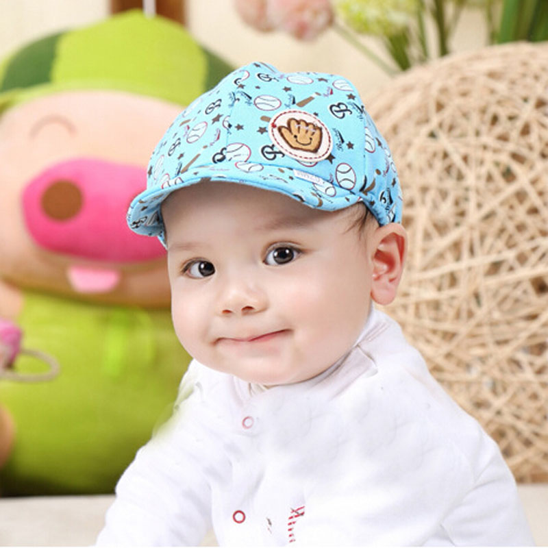 Moda 2018 del niño infantil del bebé gorras de béisbol enarboló el ... 56eb65ea7586