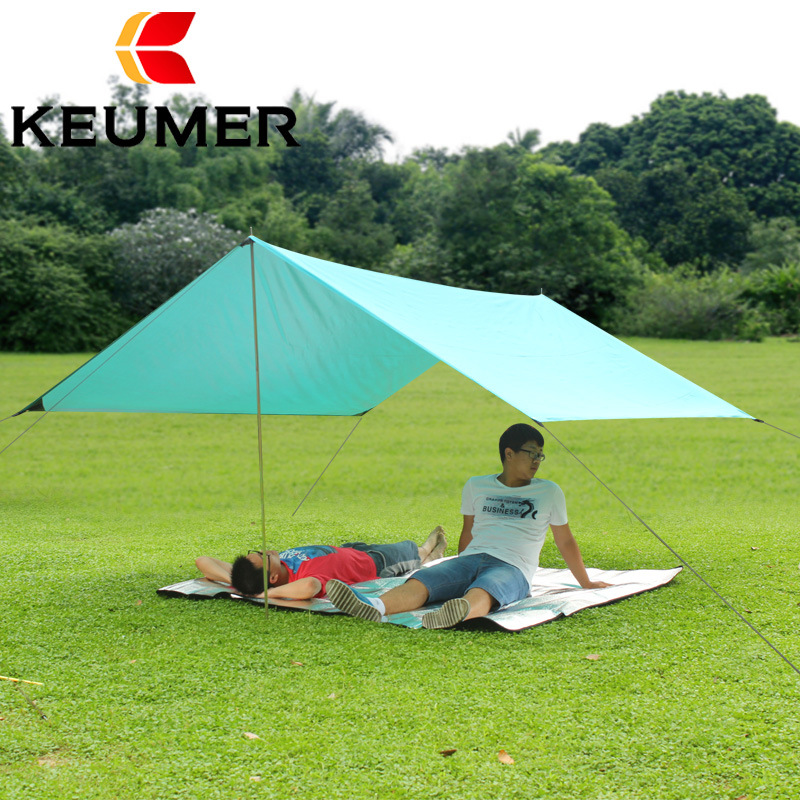 free shipping 2016 waterproof canopy tent beach sun shelter for fishing camping uv block awning camping - Green Canopy 2016