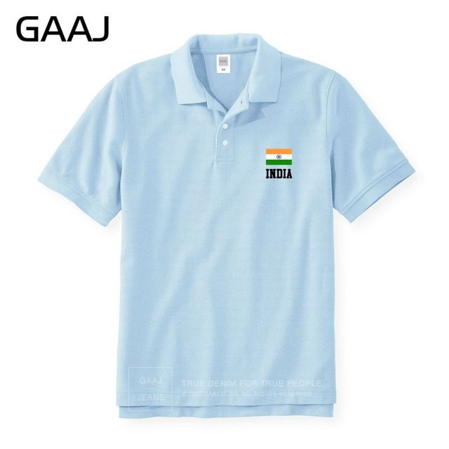 India Flag Polo Shirts Men & Women Unisex Slim High Quality South Asian Plus Size Man Polos Brands Shirt Man Mens Male Fashion