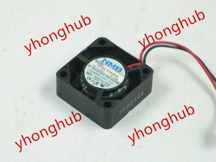 NMB-MAT 1004KL-01W-B30 M00 DC 5V 0.10A 25 × 25 × 10 ミリメートルサーバー冷却ファン