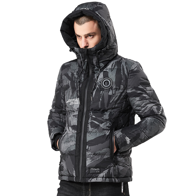 High Quality Camouflage Winter Jacket Men Thick Warm Hooded Casual Parka Men Hooded Winter Coat For Men