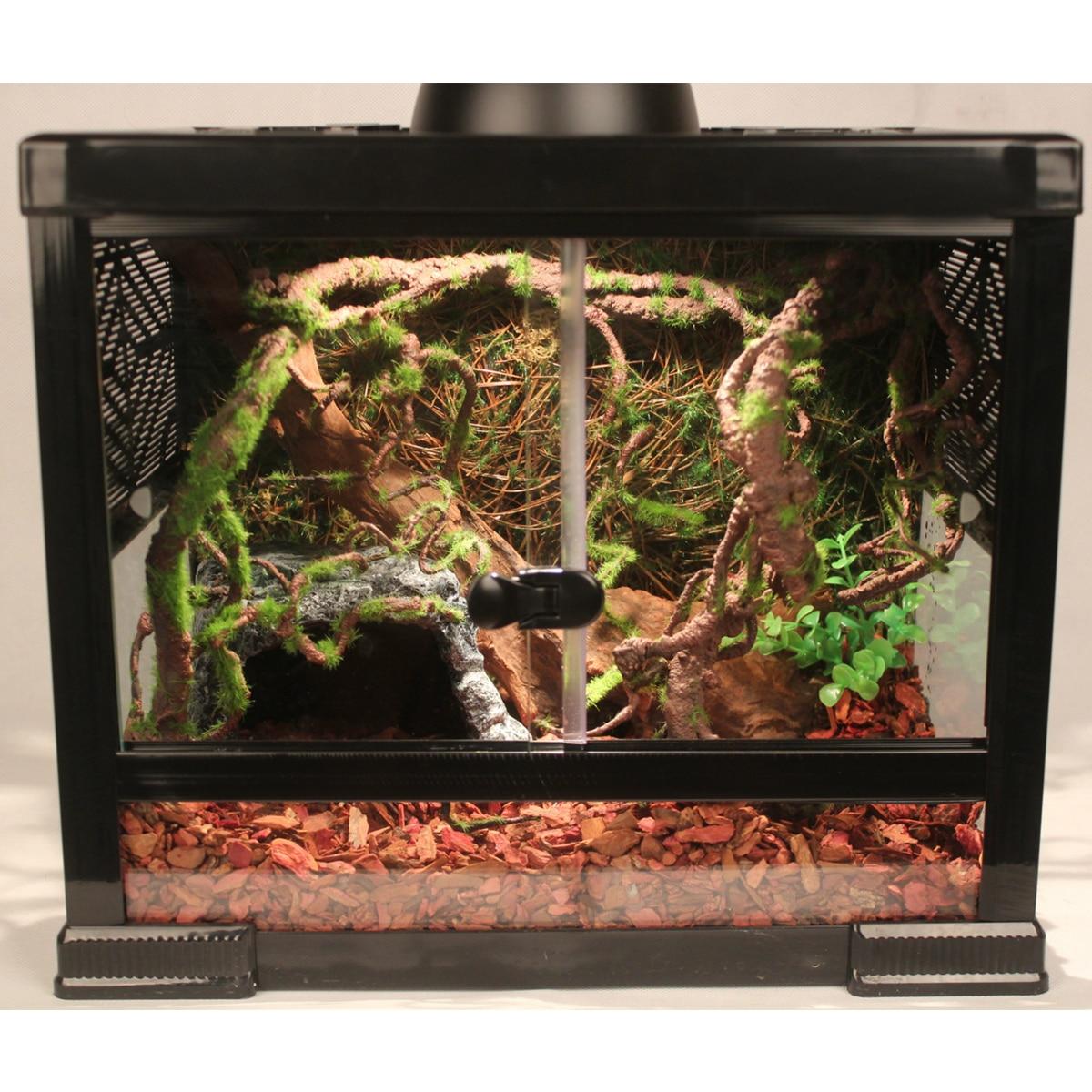 Pet Reptiles Tank Vine Climber Jungle Forest Bend Artificial Branch