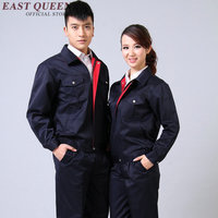 Work wear uniform work safety clothing work men clothes 2018 new arrivals NN0806 Y