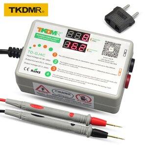 TKDMR-GJ4C new architecture LED Lamp LCD TV Backlight Tester polarity automatic identification 90W 0-300V 1-300MA(China)