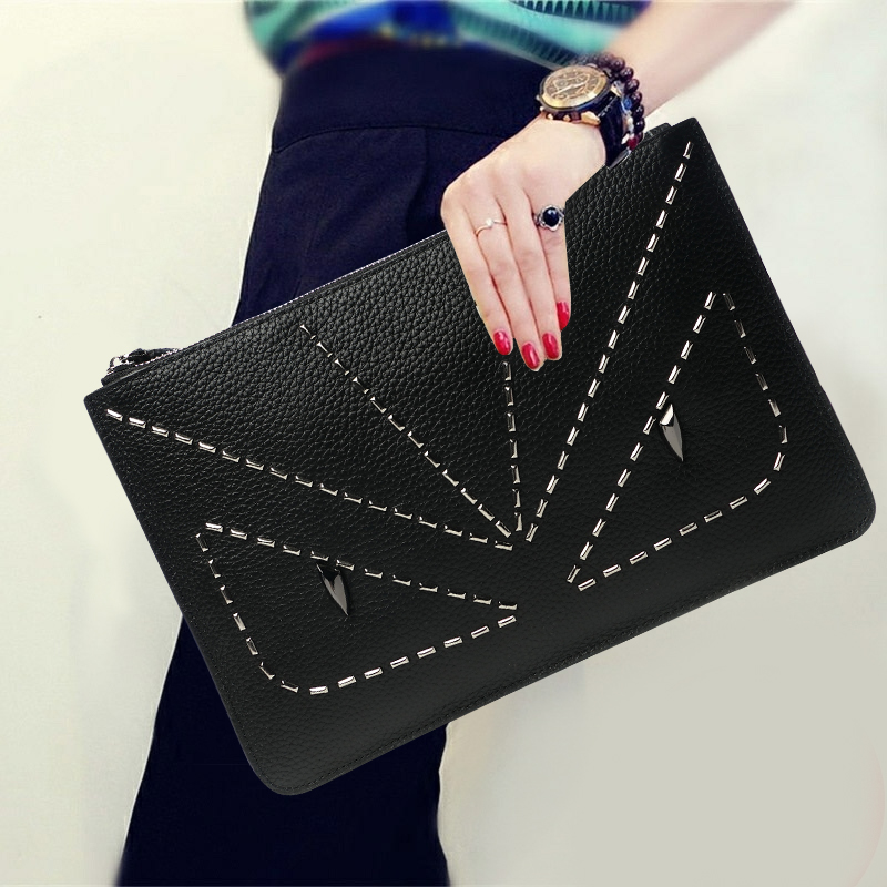 Fashion Soft Genuine Leather Large Capacity Day Clutches Woman Party Solid Color Zipper Cow Leather Messenger Shoulder Bag Gifts cardamom clutches women fashion solid colors shape of hobos zipper soft cow leather casual small clutches cell phone pocket
