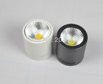 10pcs/lot 85-265v Cob,surface Mounted Down Lights White Body, ,advantage Products,high Quality Light