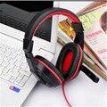 Skype Auriculares Auricular Estéreo del Juego del Juego de PC Portátil KANGLING 770 Negro