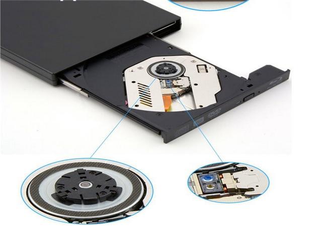 USB 2.0 Portable Bluray Burn Drive External laptop/pc BD-RE optical drive Bluray burn/write SATA 12.7MM