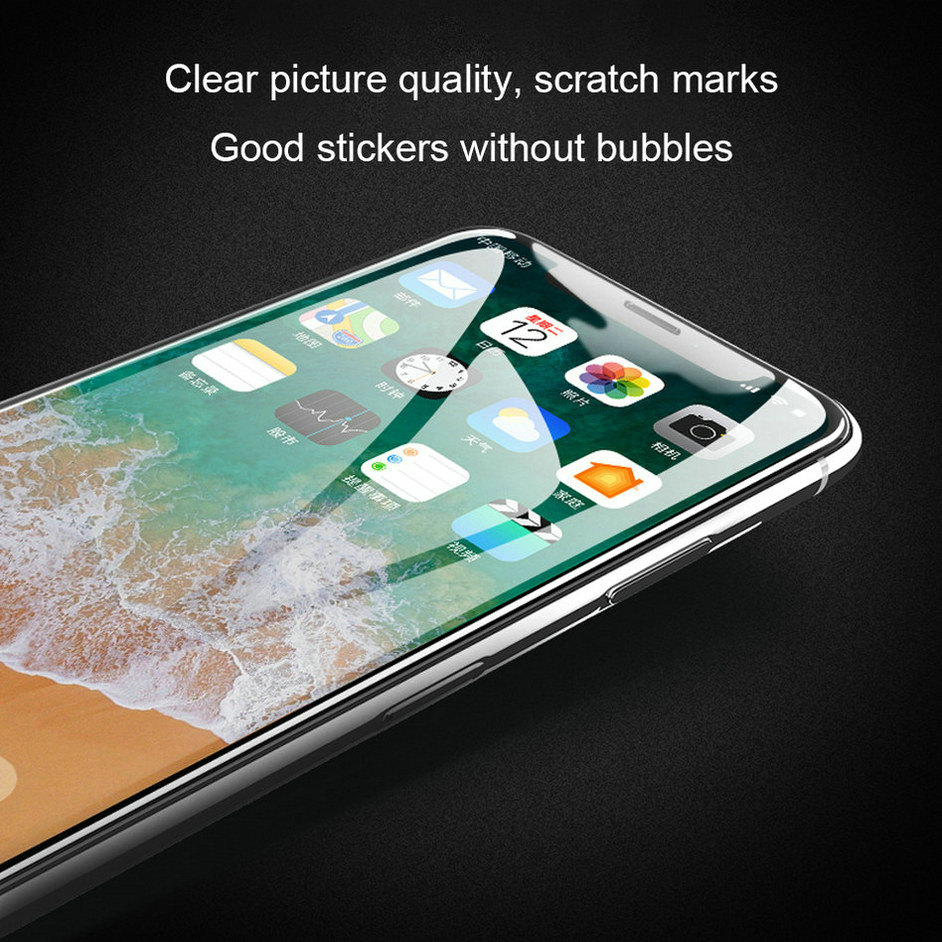 6D Glass On The For iPhone 6 6 s Plus Tempered Glass Full Cover 5D Round Edge Case For iPhone X 7 8 6 Plus 10 Screen Protector  (13)