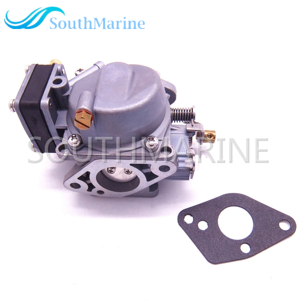 Moteur de bateau 369-03200-0 369-03200-1 369-03200-2 carburateur Assy et joint 369-02011-0 pour moteur hors-bord Tohatsu Nissan 5HP 5B