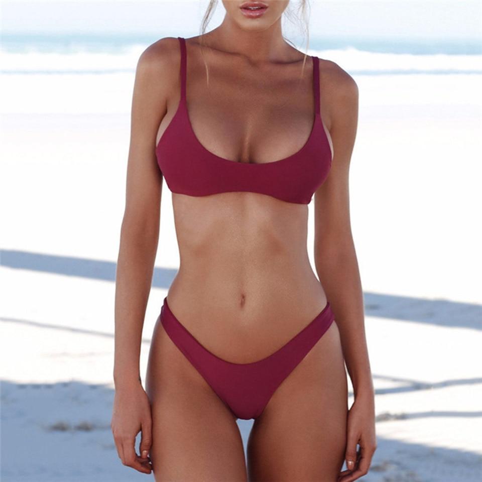 Swimwear Brazilian Bikini Push Up Swimsuit 4
