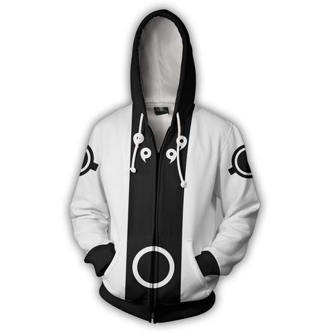 Naruto Zip Up Hoodie