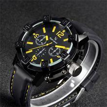 V6 Militaire Sport Montre Hommes Top Marque De Luxe Célèbre Bracelet en silicone quartz Montre-Bracelet Pour Hommes Homme Horloge Relogio Masculino