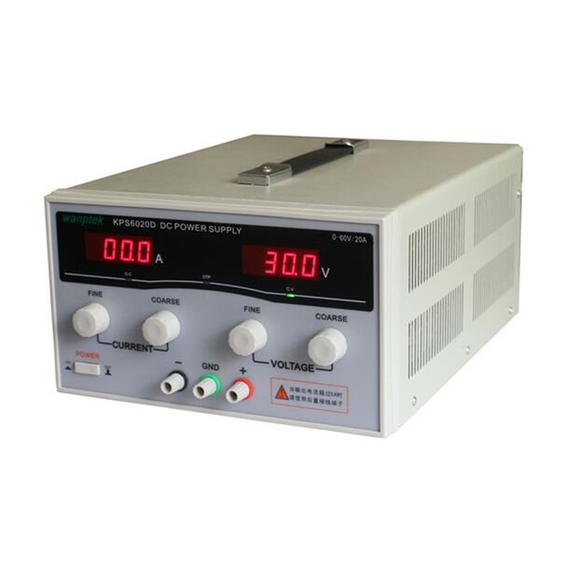 1200W KPS6020D High precision High Power Adjustable LED Dual Display Switching DC power supply 220V EU 60V/20A 0.1V / 0.1A 220v kps3040d high power switching power supply 30v 40a adjustable power supply 1200w adjustable led dual display