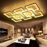 Controle remoto sala de estar quarto moderno led luzes teto luminarias parágrafo escurecimento conduziu a lâmpada do teto deckenleuchten