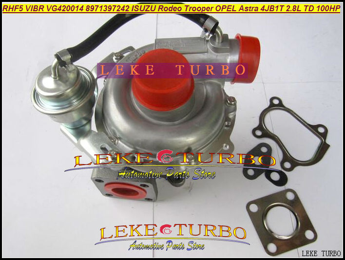 RHF5 VIBR VG420014 8971397242 8971397241 4T-504 Turbo Turbine Turbocharger For ISUZU Rodeo Trooper For OPEL Astra 4JB1T 2.8L free ship turbo rhf5 8973737771 897373 7771 turbo turbine turbocharger for isuzu d max d max h warner 4ja1t 4ja1 t 4ja1 t engine