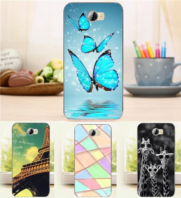 New Arrival Fashion Case For Huawei Y5 2 Y5II Y5 II Flower Tower Case HUAWEI CUN-L21 CUN-L01 CUN-U29 CUN L21 L01 U29 L23 L02 L33