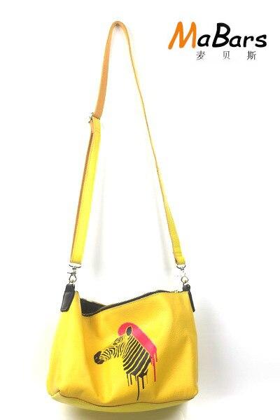Mabars spring summer new women genuine leather handbag Crossbody fashion printing women shouler bag delin sunshine beauty women 2017 new summer fashion handbag crossbody bag