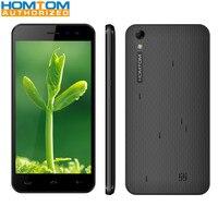 HOMTOM HT16 PRO 5.0 inç 1280x720 4G Smartphone MTK6737 Quad Core 2 GB RAM 16 GB ROM 2MP 8MP Çift Kameralar 3000 mAh Cep Telefonu