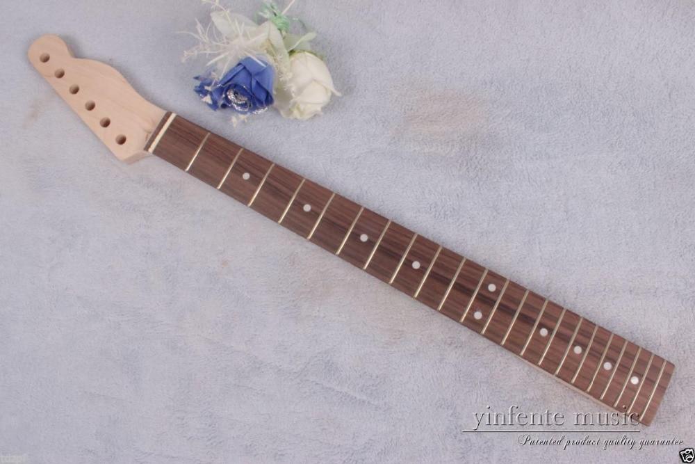 New 1pcs electric guitar neck 22 fret 25.5'' maple rose Fretboard dot inlay #815 new electric guitar neck maple wood 22 fret 24 75 truss rod bird inlay 767