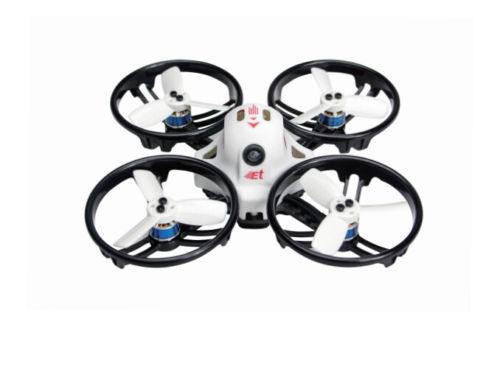 Drone de course JMT ET125 PNP sans balais FPV RC Mini quadrirotor avec accessoire récepteur Futaba Frsky Flysky