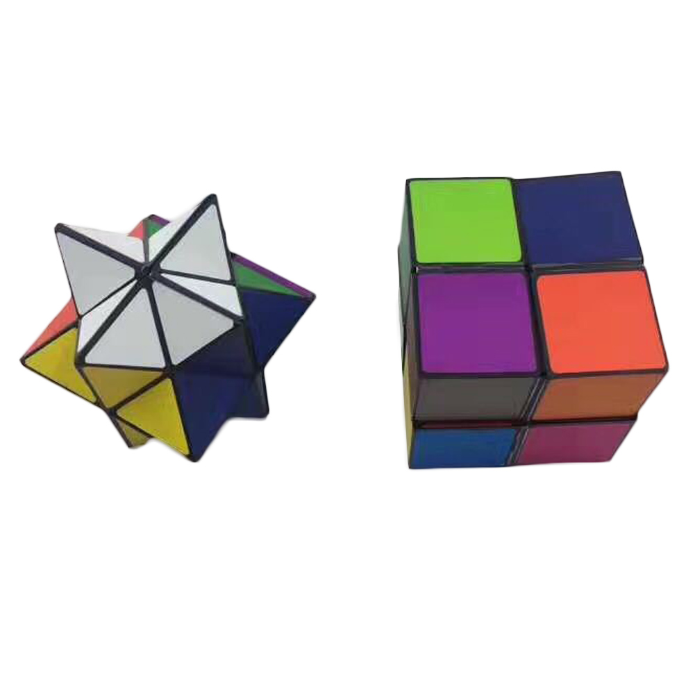 Colorful Infinite Fidget Cube Pressure Reduction Hand Toy Magic Infinity Turn Spin Cube For Autism