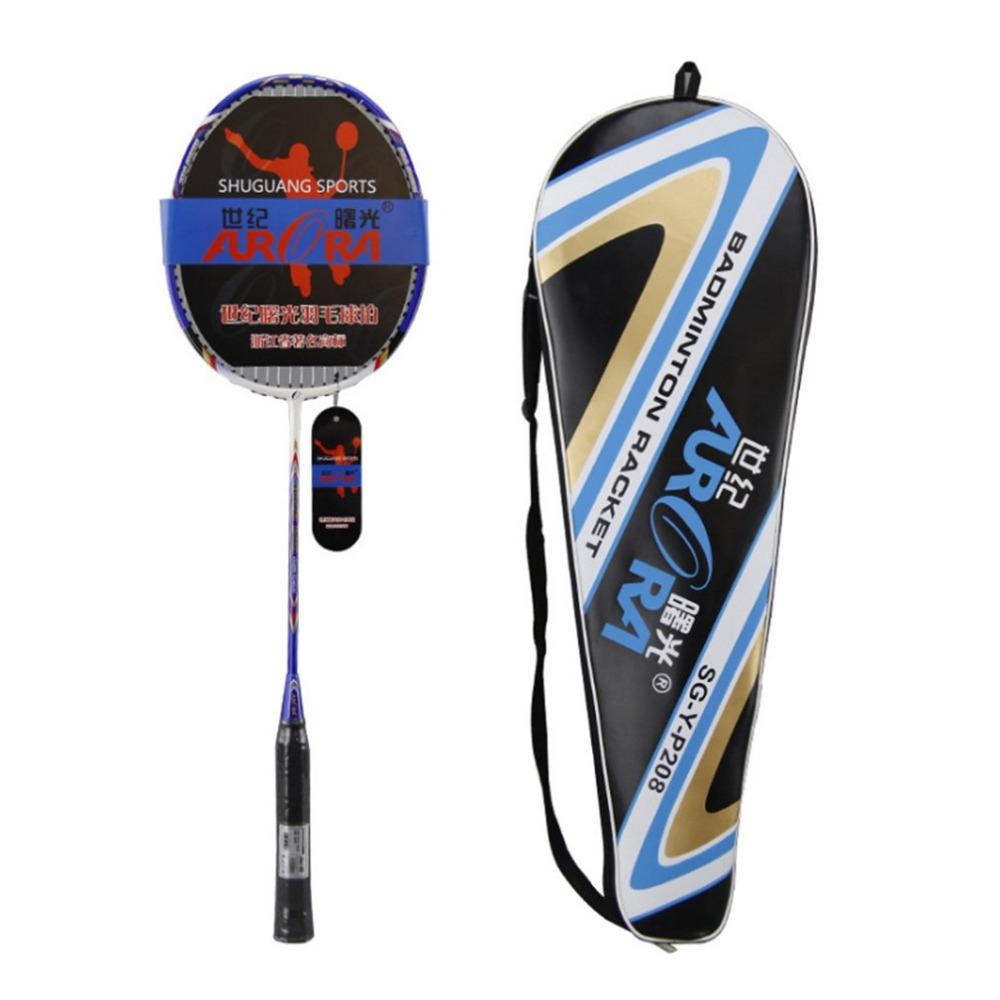 1PCS Full Carbon Badminton Racket Lightweight Cork Comfortable Handle Sport Match Competition Badminton Racquet