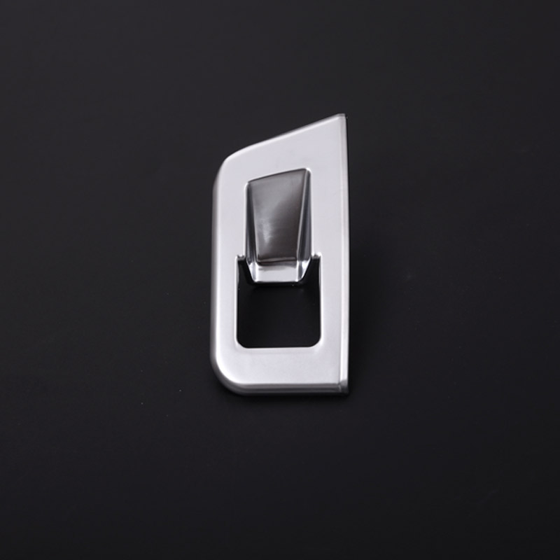 For Audi Q7 2016 Car Styling ABS matte Chrome Interior Tail Door Switch Button Cover Trim Accessores 1pc