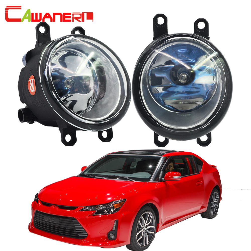 Cawanerl For 2011-2013 Scion tC 2 Pieces 100W H11 Car Styling Halogen Bulb Fog Light Daytime Running Lamp DRL 12V High Power cawanerl 2 pieces car styling led fog light daytime running lamp drl 12v for infiniti g37 sport 3 7l v6 gas 2011 2012 2013