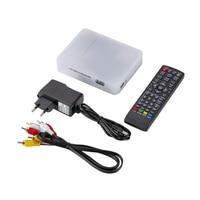 DVB T/DVB T2 TV Tuner Receiver DVB T/T2 TV Box VGA AV CVBS 1080P HDMI digital HD Satellite receiver With Remote Control