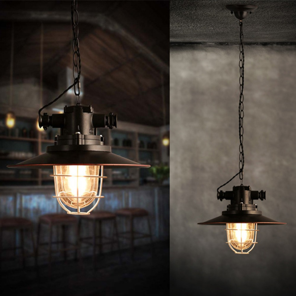 Pendant lamp light nordic loft2 restaurant restaurant for Bar fixtures