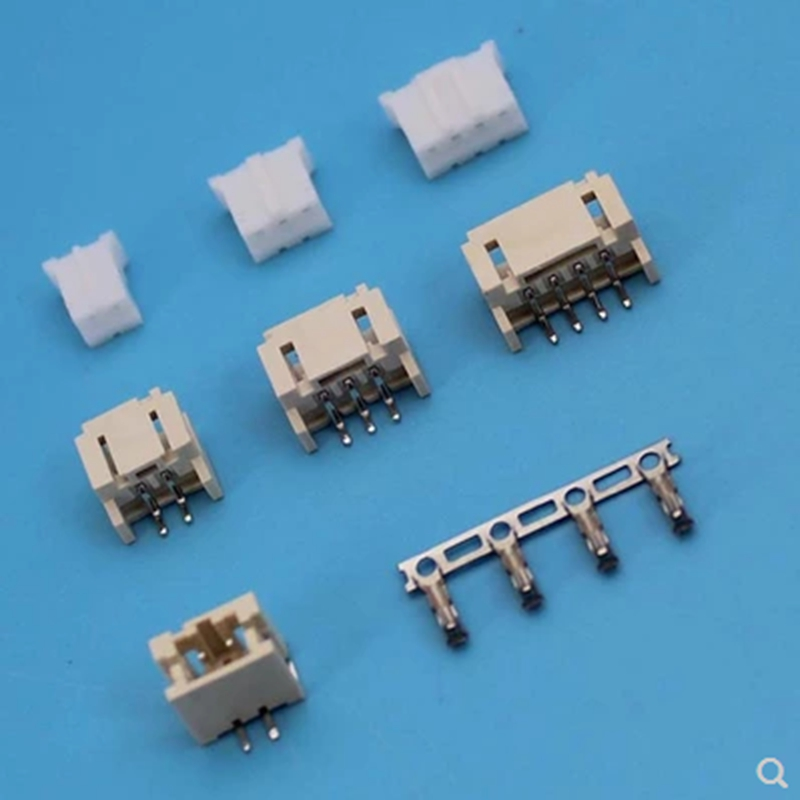 1set 2.0mm space pitch plug-in connector male and female plug on the plug 2p3p4p6p9p12p terminal