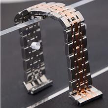 Ремешок для часов hq из нержавеющей стали серебристый 20 мм