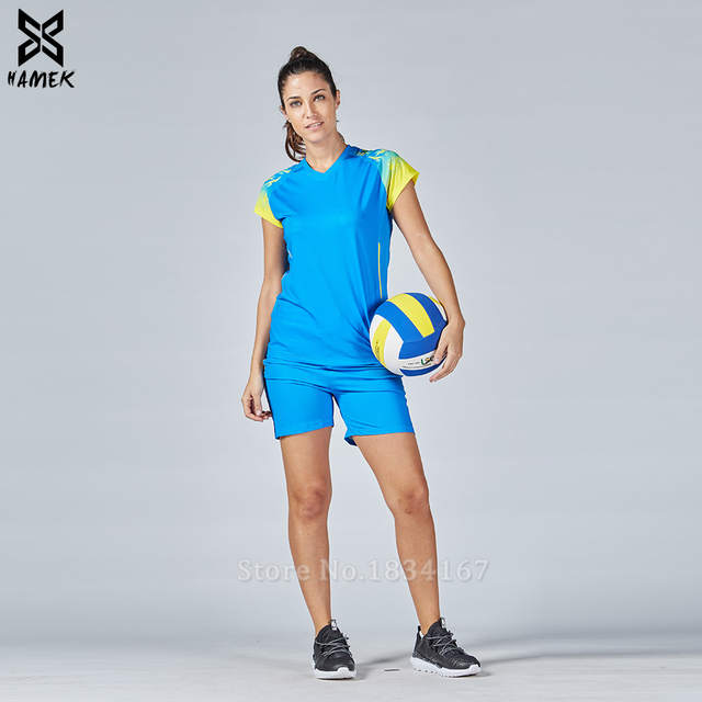 Online Shop Women volleyball sets short sleeve customized clothes lady  volleyball suits girls DIY sports kits female training kits 2017 new  51ecd61c1b109