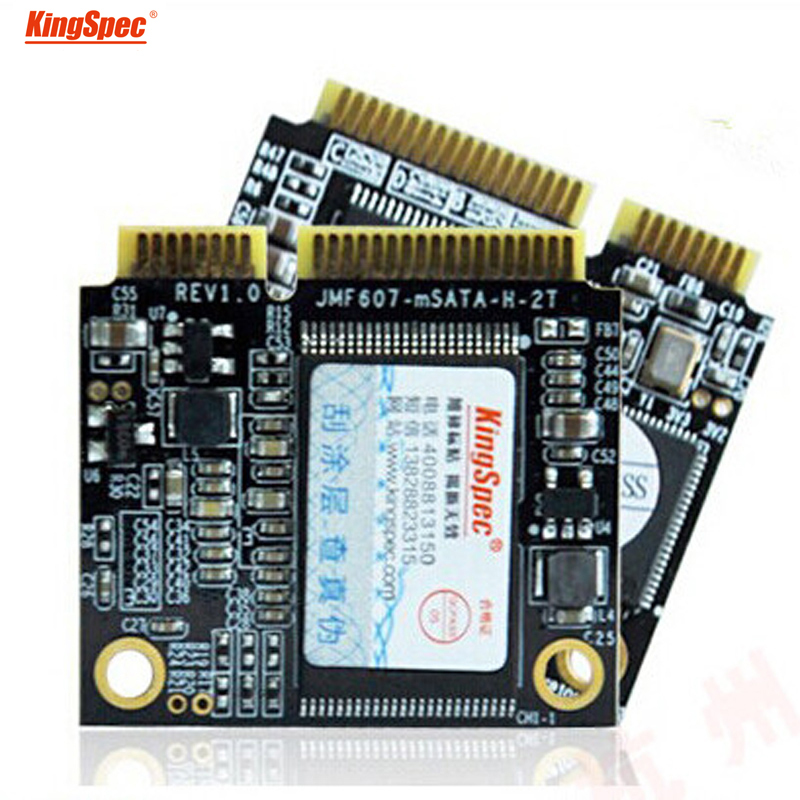 ACSC2M064mSH Kingspec mini pcie Half mSATA 64GB SATA II/III Module ssd solid state hard drive disk msata For Notebook Tablet PC integrated 64gb emmc chipset with 1 mini pcie is used for n box mini pc embedded motherboard