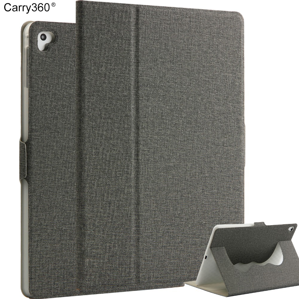 Carry360 Case for New iPad 9.7 inch 2017,  Business stand Case Magnet wake up sleep For New iPad 2017 model A1822 A1823