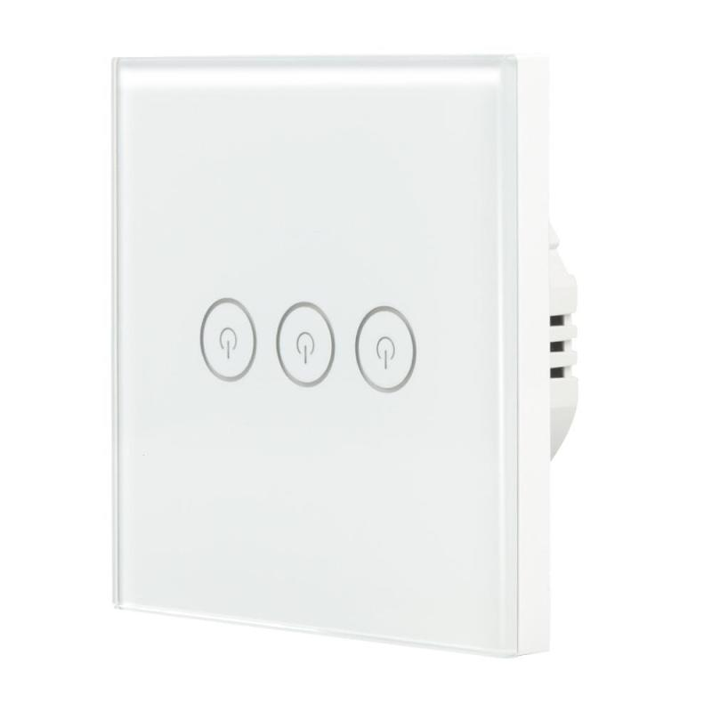 WiFi Smart Switch 3 CH Light Wall Switch APP Remote Control Work with Amazon Alexa Google Home Supported Timing Schedules Z30