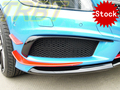 Estoque De Carbono Canard A45 AMG W176 CF Divisor Dianteiro Spoiler Lateral 4 Pcs Caso Asa Dianteira Para Mercedes Benz A Class A250 A260 Esportes