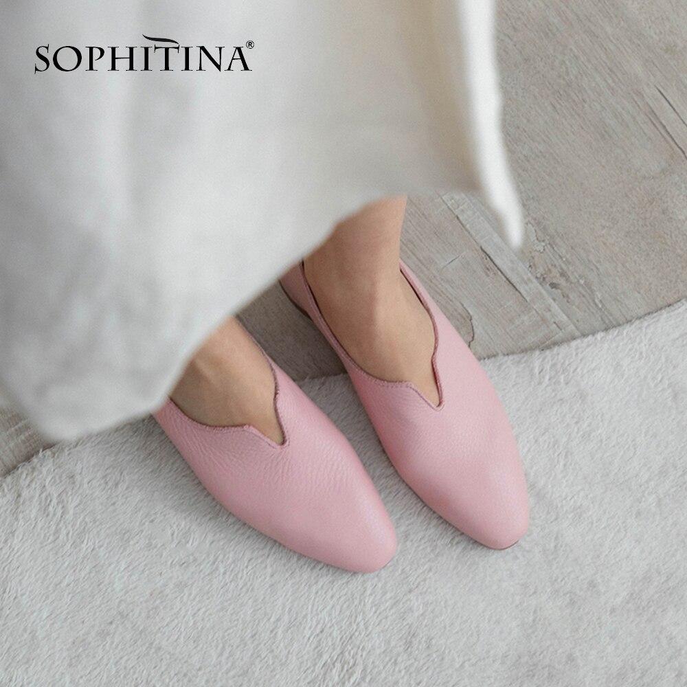 echtem Komfortable Pumps aus Leder Mode Sophitina R qLMVpUjSzG
