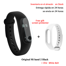 Nueva original xiaomi mi banda 2 pulsómetro gimnasio rastreador pulsera bluetooth android 4.4 ios 7.0 touchpad screenbracelet