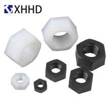 Черно белая Шестигранная нейлоновая стандартная пластиковая