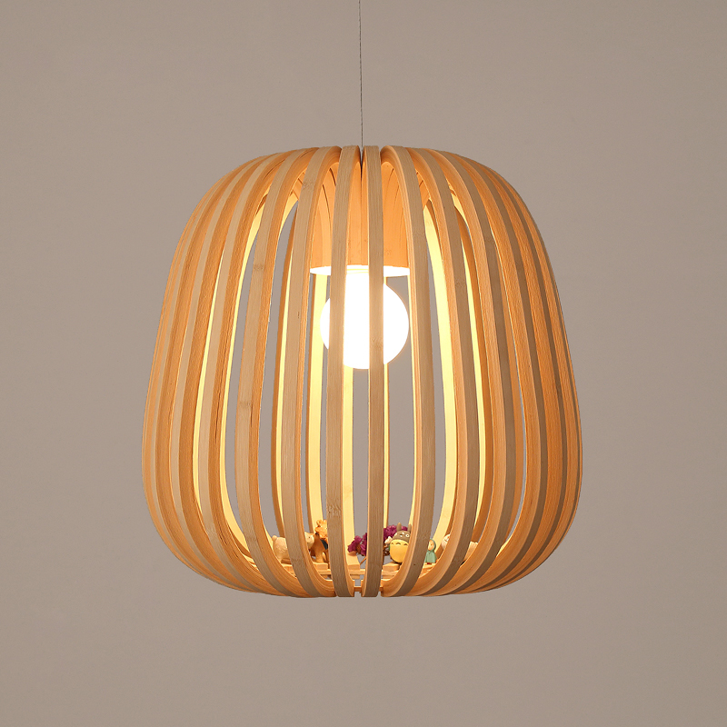 Art Decoration Idyllic Village Bamboo Pendant Lights