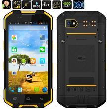 Оригинал S28 Водонепроницаемый Телефон Противоударный Android 6.0 Смартфон Прочный Мобильный Телефон MTK6755 Глонасс NFC Окта основные 4 Г LTE 3 ГБ ОПЕРАТИВНОЙ ПАМЯТИ