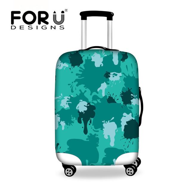 Moda elástica bolsa de viagem cobertura de bagagem capa protetora para 18-30 polegada dirtproof à prova d' água mala cobre acessórios de viagem