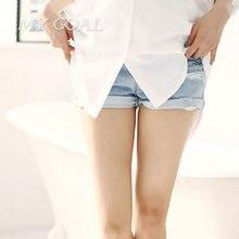 Одежда для беременных Летняя Мода Джинсовые Шорты Задержать Капри Живота Брюки Беременности Носить Шорты
